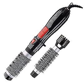 Revlon Ceramic Hot Air Brush Kit with 1 Inch & 1-1/2 Inch Brush Attachments - 51B5F9wpgfL - Revlon Ceramic Hot Air Brush Kit with 1 Inch & 1-1/2 Inch Brush Attachments