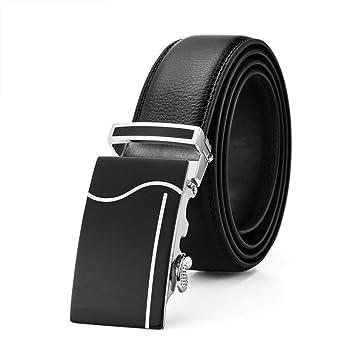 Y-WEIFENG Traje Pantalones Cinturón Cinturón de Cuero para ...