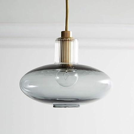 Lampadario Sospensione Vetro Trasparente.Liunce Striscia Di Vetro Trasparente Lampadario Lanterna Ovale