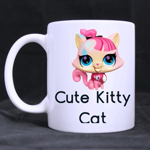 Halloween's Day Gifts Funny Guy Mugs Humor Quotes Cute Kitty Cat Tea Or Coffee Cup 100% Ceramic 11-Ounce White Mug -
