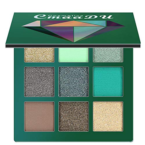 LiPing Cosmetic Matte 9 Colors Eyeshadow Dust Powder