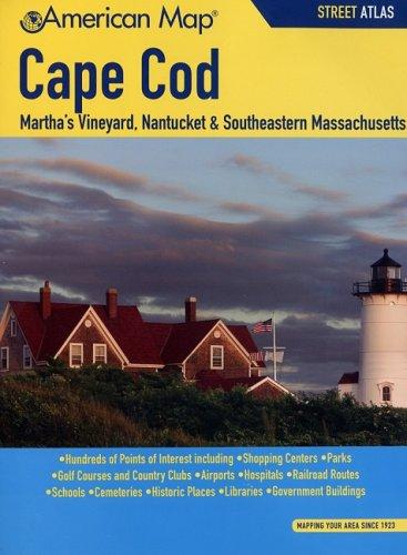 American Map Cape Cod, MA Street Atlas