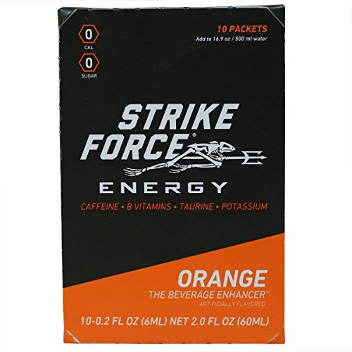 Strike Force Energy, 10 Ct. Box - Orange