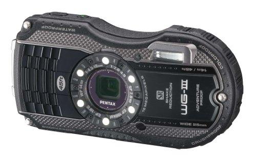 (Pentax Optio WG-3 black 16MP Waterproof Digital Camera with 3-Inch LCD Screen (Black))