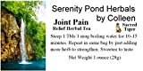 Serenity Pond Herbals By Colleen Joint and Chronic Pain Relief Herbal Tea Remedy Sold Exclusively By Sacred Tiger (One Ounce)