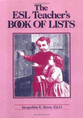 The Esl Teacher's Book of Lists