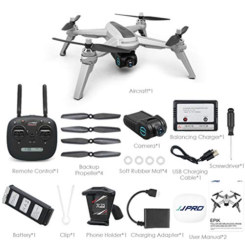 WANG XIN Remote Control Aircraft with GPS WiFi 1080P Drone Quadcopter by WANG XIN (Image #6)