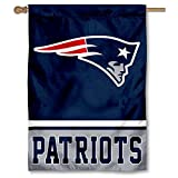 WinCraft New England Patriots Two Sided House Flag