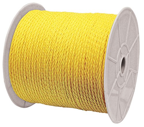 Rope King HBP-12250 Hollow Braided Poly Rope, 1/2