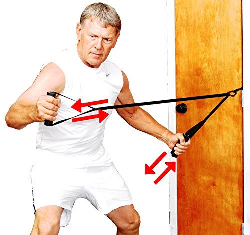 Bull Worker Exercises: Bullworker Bow Extension Includes FREE Iso-Bow