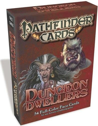 Pathfinder Face Cards Dungeon Dwellers