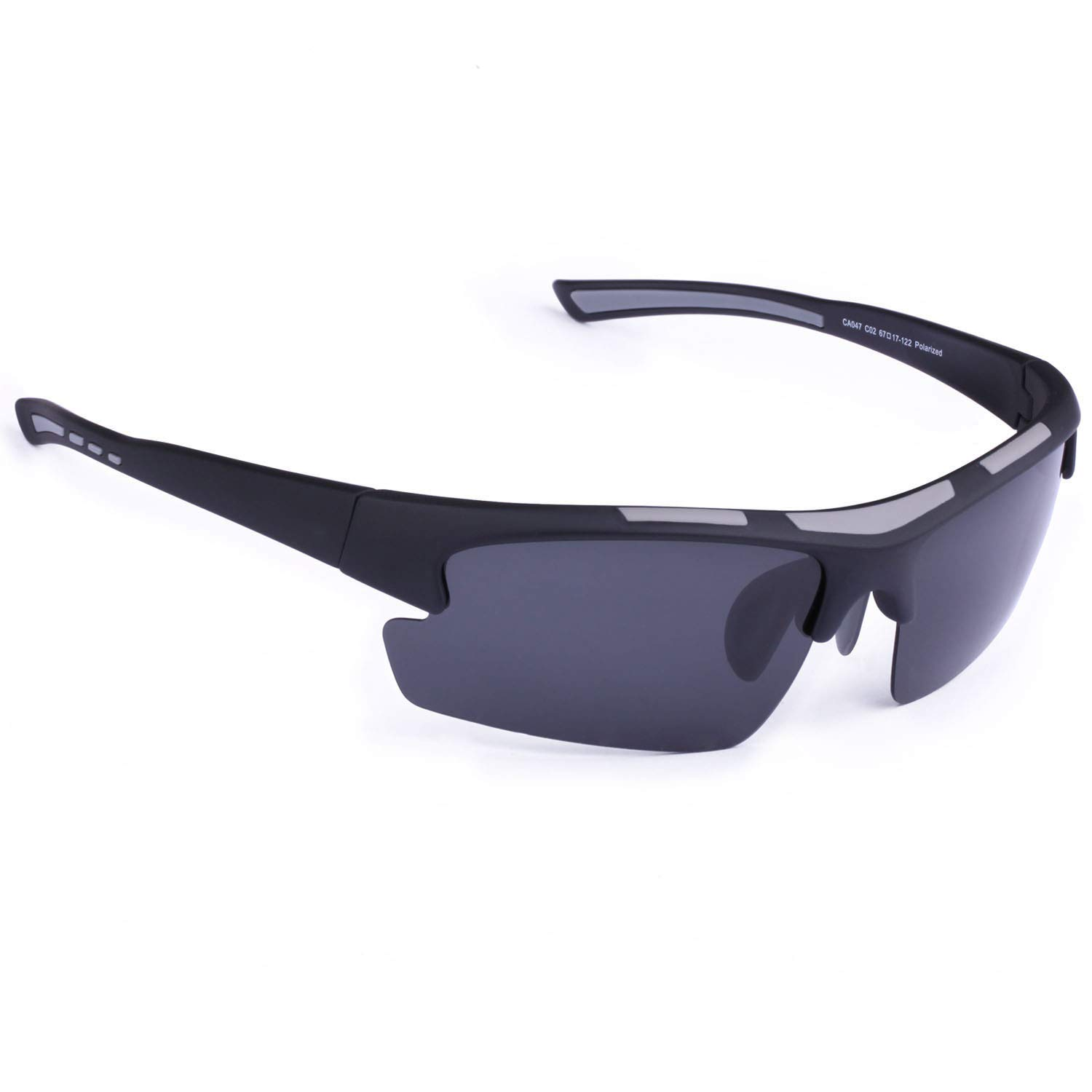 Sports Sunglasses - Carfia Cycling Running Fishing Sunglasses for Men Women Ultralight Comfy Frame (Style: Blue Mirror) by Carfia