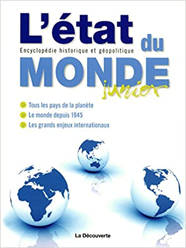 Livres gratuits L'état du monde junior pdf