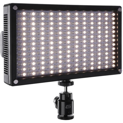 Genaray LED-7100T 312 LED Variable-Color On-Camera Light(6 Pack) by Genaray