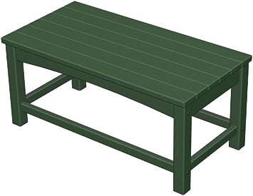 Plastique recyclé Club Table basse vert chasse: Amazon.fr ...