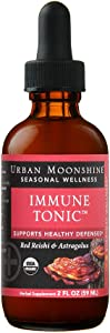 Organic Immune Tonic with Astragalus & Red Reishi - 2 fl oz