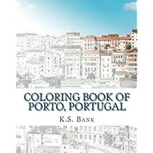 Coloring Book of Porto, Portugal