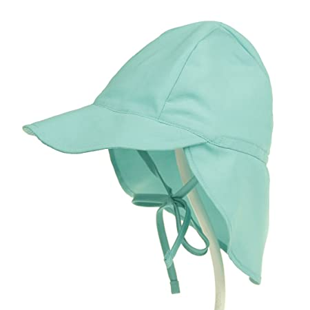 4ff1bd4a Boomly Kids Sun Protection Hat UPF50+ Adjustable Flap Hat Neck Protection  Summer Visor Cap Breathable Fast Drying Beach Hat For Babies and Toddlers:  ...