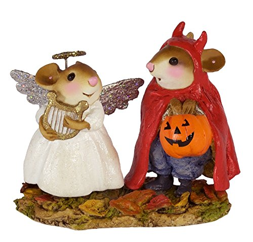 Wee Forest Folk M-587 Sweet and Spicy Twosome (New Halloween (Twosomes Halloween)