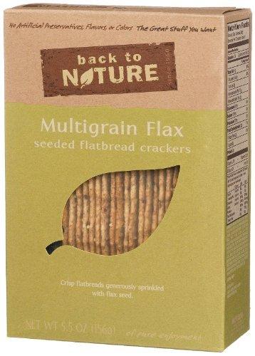 (Multigrain Flax Seeded Flatbread Crackers 5.50 Ounces (Case of 6))
