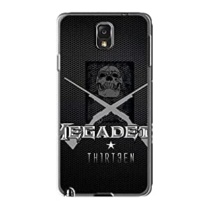 Samsung Galaxy Note3 Vtd451YGvY Customized Lifelike Metallica Series Protective Hard Cell-phone Cases -RichardBingley