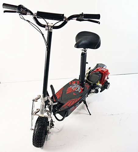 Engine Scooter 4 stroke. New Generation, compact and stylish. Electric scooter new season 2017! Recommendation of 15 years and above. House takes up little space. It is easy to fit in the car. by T-Max Scooter