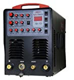 LONGEVITY TigWeld 200DX, 200amp AC/DC Tig Welder/Stick Welder with Pulse
