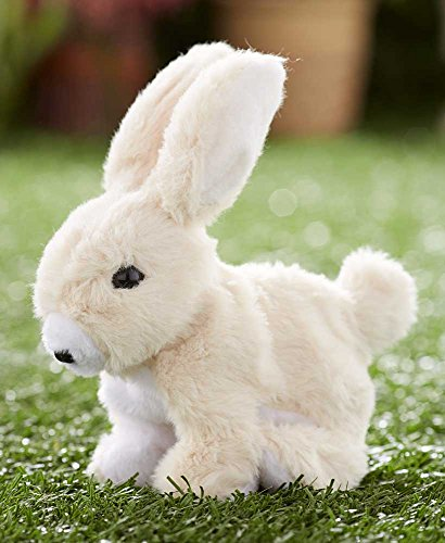 - Hoppy the Rabbit Easter Bunny Battery Operated Hopping Rabbit