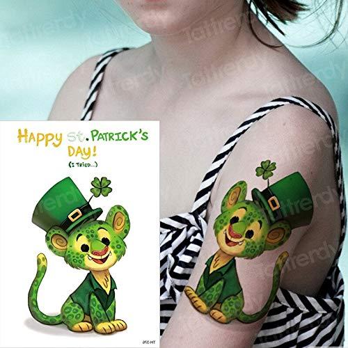 tzxdbh Tatuajes temporales para niños Tatuajes niños Color de Agua ...