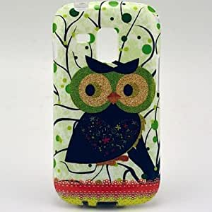 TOPQQ Cute Owl Pattern Soft Case for Samsung Galaxy Trend Duos S7562