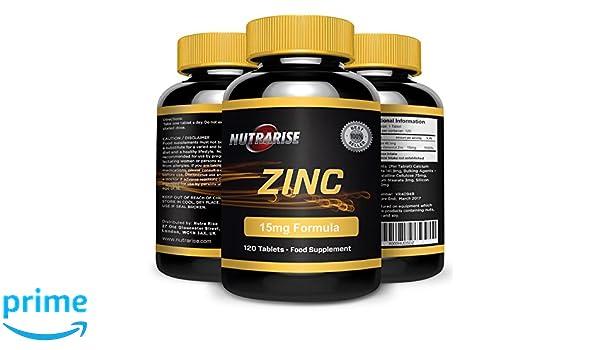 Citrato de zinc, el mejor deporte Suplemento para la reparación muscular y el crecimiento, refuerza el sistema inmunológico, promueve el cuidado de la piel, ...