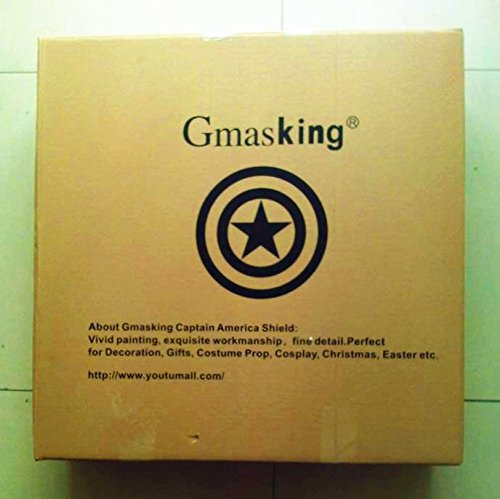 Gmasking Aluminum America Men's Cosplay Adult Shield 1:1 Replica Props+Adjustable Strap by Gmasking (Image #8)