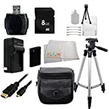 Essential Accessory Kit For Sony Cyber-Shot DSC-HX90V DSC-WX500 DSC-HX400 DSC-QX10 DSC-QX100 DSC-WX5 DSC-WX9 DSC-WX50 DSC-WX70 DSC-WX150 DSC-W330 DSC-W510 DSC-W530 DSC-W560 DSC-W570 DSC-W610 DSC-W620 DSC-W650 DSC-W690 DSC-W800 DSC-W830 DSC-TX10