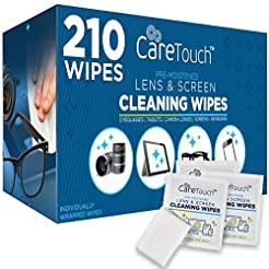 Care Touch Lens Cleaning Wipes, Pre Mois...