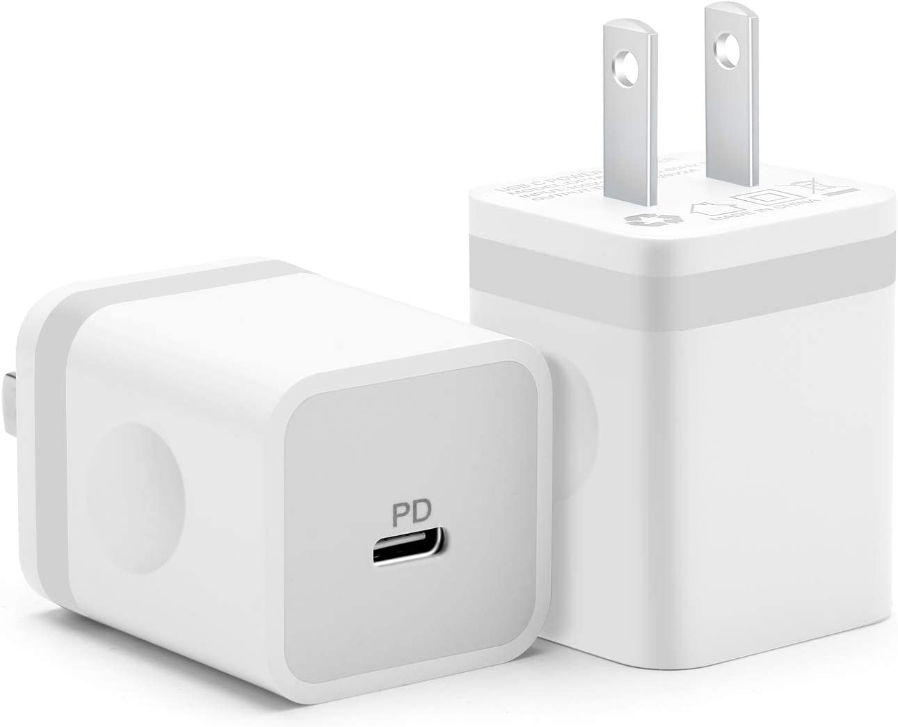 Amazon Com Arccra Usb C Charger 2 Pack 18w Pd Type C Power