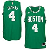 Isiah Thomas Boston Celtics NBA Adidas Youth Green Swingman Road Jersey