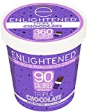 Enlightened, The Good For You Ice Cream, Pint (4 Count) (Triple Chocolate)