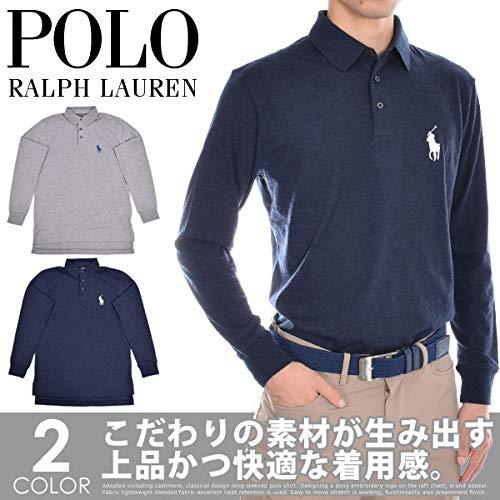 ポロゴルフ ラルフローレン ブレンド 長袖ポロシャツ Small ネイビー B07JVD2L9F
