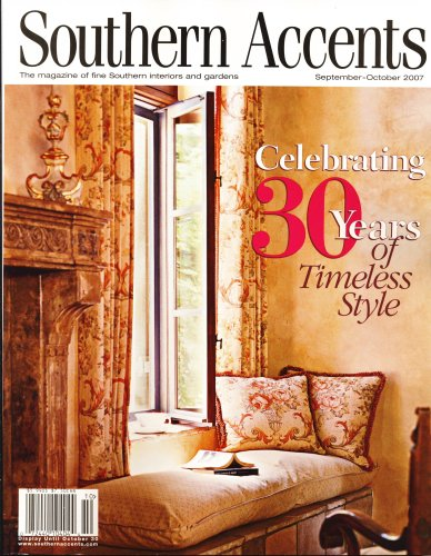 Southern Accents, October 2007 Issue