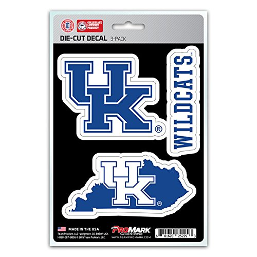 ts Team Decal, 3-Pack (Kentucky Wildcats Fan)