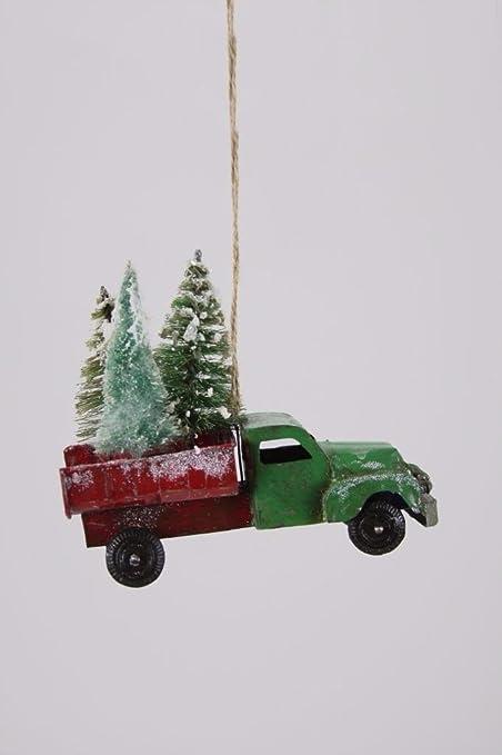 Christmas In Evergreen Truck.Amazon Com Cody Foster Christmas Village Evergreen Farms