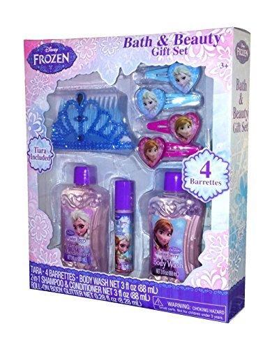 Disney Frozen Bath & Beauty Gift Set (Disney Frozen Bath Accessories)