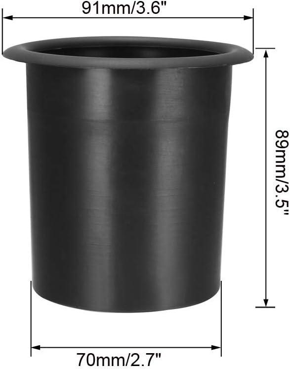 uxcell 2Pcs 75mm x 89mm Speaker Port Tube Subwoofer Bass Reflex Tube Bass Box Vent