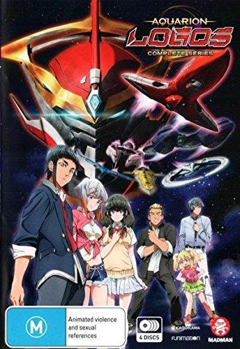 Aquarion Logos: Complete Series | 4 Discs | Anime & Manga | NON-USA Format | PAL | Region 4 Import - Australia