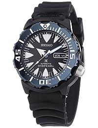 Seiko SRP581 Men's Prospex Dive Stainless Black Polyurethane Band Black Dial Watch