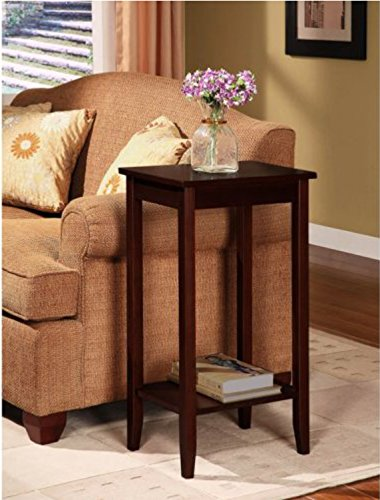 Sturdy Coffee Tall Accent End Table. Flower Vase Holder Can