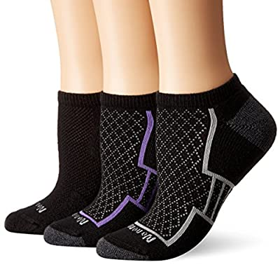 No Nonsense Women's Soft and Breathable Cushioned No Show Liner Sock with Ventilation 3-Pack