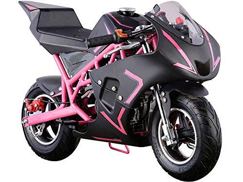 USA Big Toys Cali 40cc Gas Pocket Bike in Pink