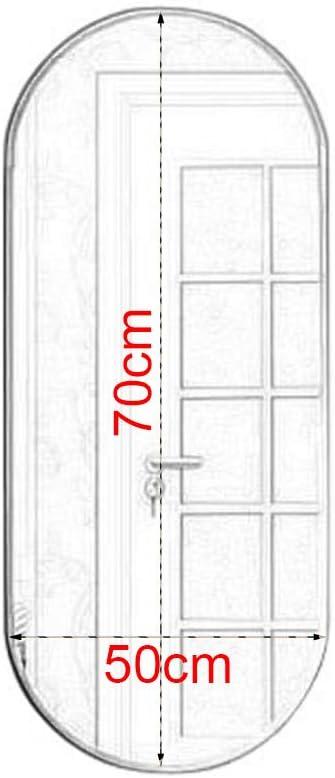Creativo Espejo Ovalado para Colgar En La Pared con Marco De Hierro Forjado para Sala De Estar De Entrada De Ba/ño Family History Decoraci/ón De Espejo De Ba/ño