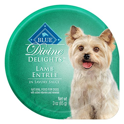 Blue Buffalo BLUE Divine Delights Small Breed Lamb Formula 3 oz, Pack of 12